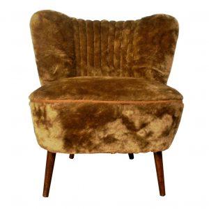 Shaggy Club 70's – restored coctail chair