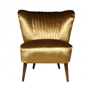 Golden Club 70's – restored coctail chair